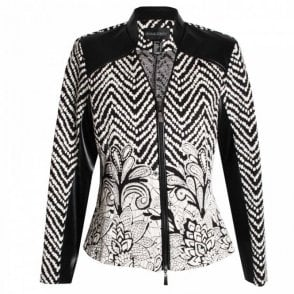 Women's Long Sleeve Zip Blazer Jacket