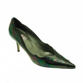 Women's Low Heel Classic Court Shoe