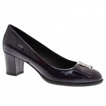 Nicola Sexton Women's Low Heel Court Shoe With Trim