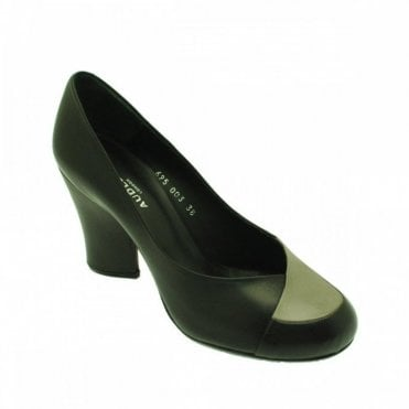 Audley Women's Rounded Toe High Heel Court Shoe