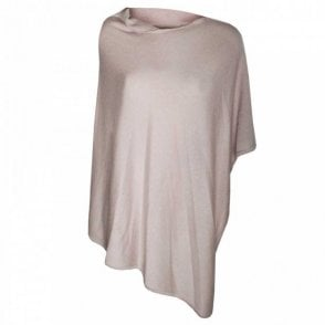 Dom Goor Women's Ruffle Collar Cashmere Poncho