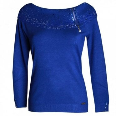 Women's Shawl Collar Knitted Jumper