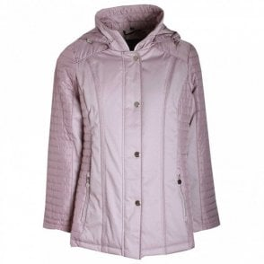 Women's Short Padded Jacket With Hood