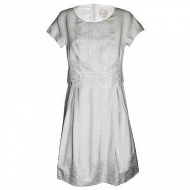 Women's Short Sleeve A Line Dress