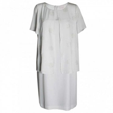 Women's Short Sleeve Layered Dress
