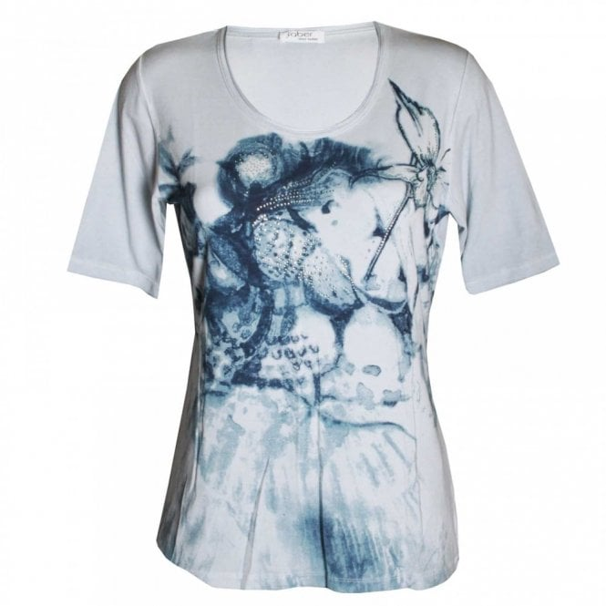 Faber Women's Short Sleeve Printed T- Shirt