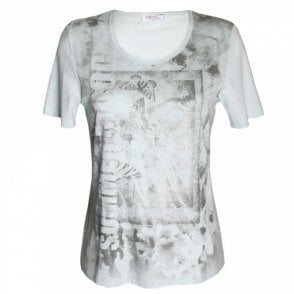 Women's Short Sleeve Printed T-shirt