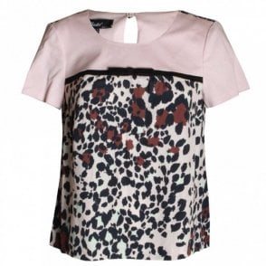 Badoo Women's Short Sleeve Printed Top