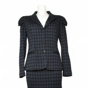 Women's Shoulder Detail Check Jacket