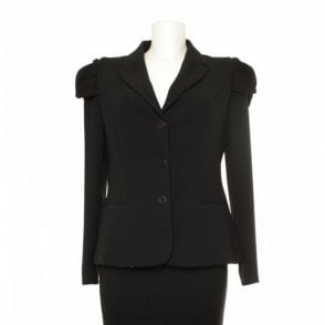 Women's Shoulder Detail Tailored Jacket