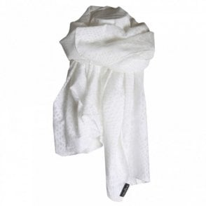 Women's Silk & Cotton Long Scarf
