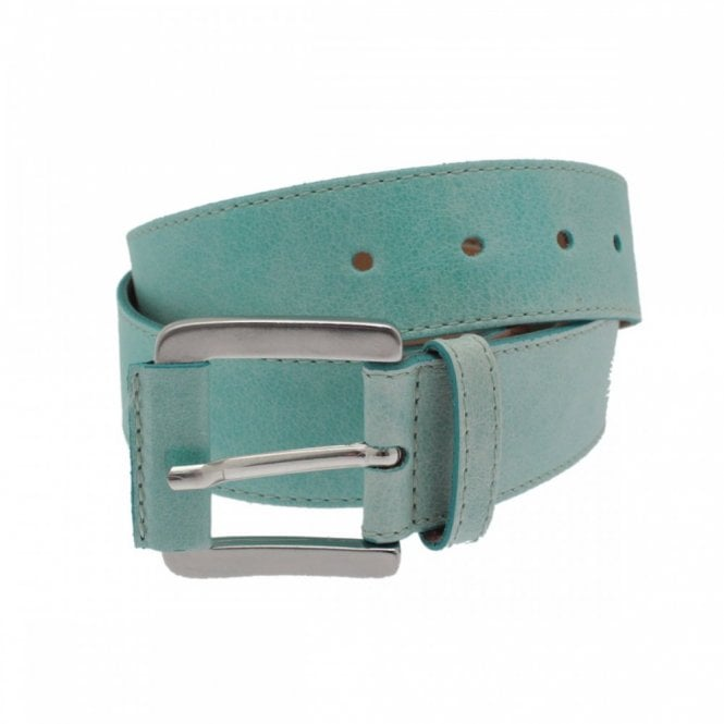 Mac Jeans Women's Silver Buckle Plain Belt