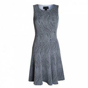 Women's Sleeveless Dress With Round Neck