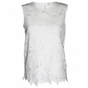 Women's Sleeveless Lace Top