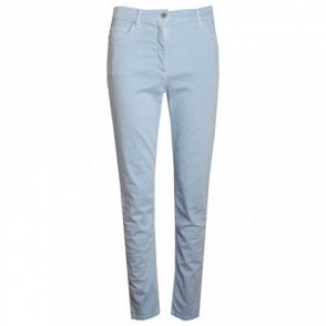 Women's Straight Leg Cotton Trousers