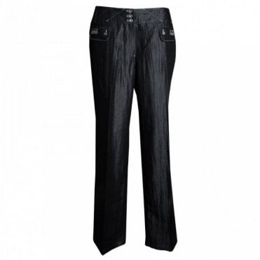 Women's Straight Leg Long Trousers