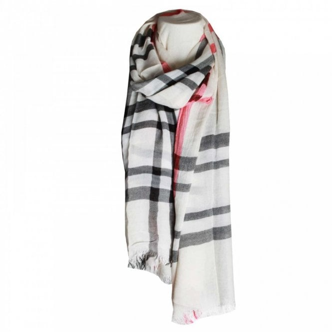 Fraas Women's Stripped Design Long Scarf