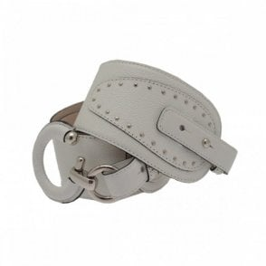 Women's Stud Detail 'c' Buckle Belt