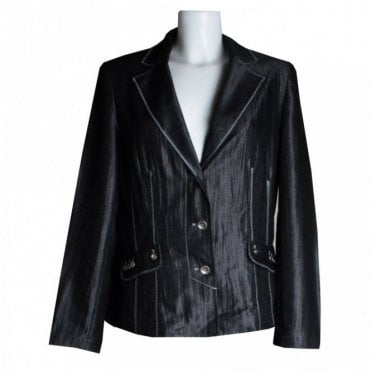 Women's Tailored Silky Blazer Jacket