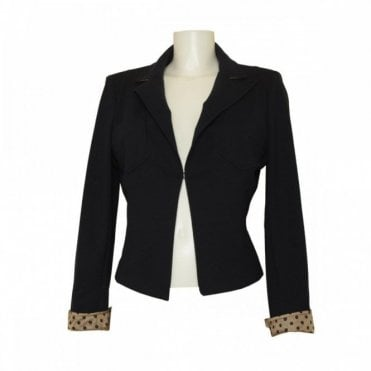 Isabel De Pedro Women's Tailored Two Pocket Blazer