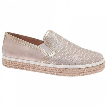 Women's Textured Slip On Moccasin