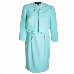 Women's Two Piece Dress And Jacket Set