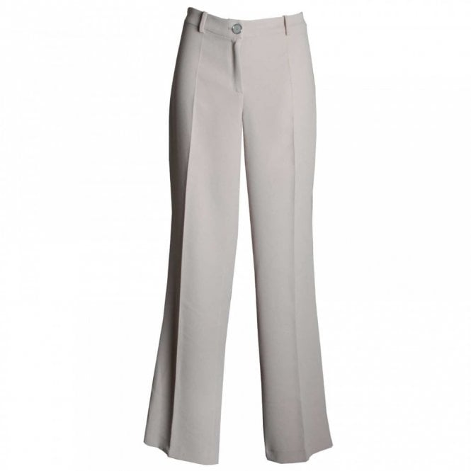Badoo Women's Wide Fit Long Tailored Trousers