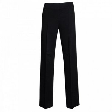 Women's Wide Leg Jersey Trousers