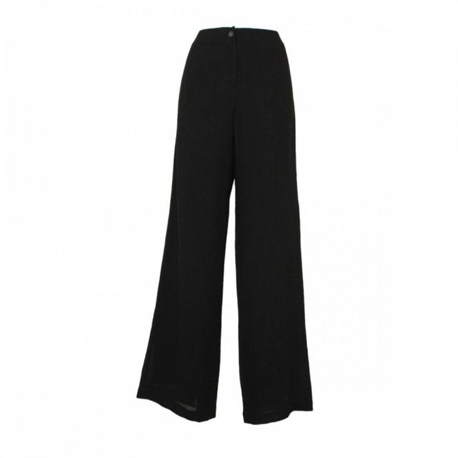 Crea Concept Women's Wide Leg Woven Trousers