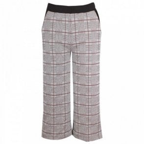 Women's Wide Legged Cropped Trousers