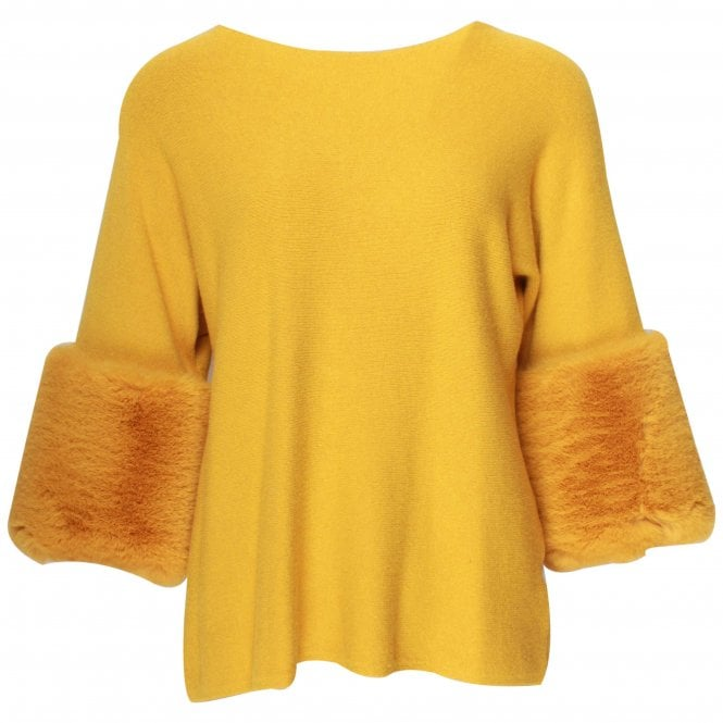 Tops With Fur Cuffs