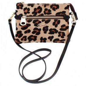 Zip Detail Cross Body Handbag